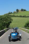 Bugatti, T 35 T, Mille Miglia, 1000 Miglia, near Pienza, San Quirico d'Orcia, Toskana, Italy, Europe