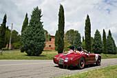 Ermini, 1100 Sport, 1952, Mille Miglia, 1000 Miglia, near San Quirico d'Orcia, Toskana, Italy, Europe