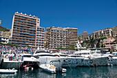 Port Hercule, Monaco, Monte Carlo, Cote d´Azur, France, Europe