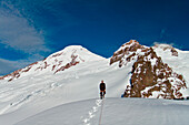 Climbing Mount Baker., Mount Baker, WA, United States