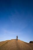 mountain biker, Moab, Utah, Moab, Utah, United States