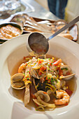 Bowl of seafood stew, Richmond, VA, USA