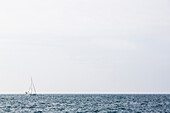 Sailing boat on Mediterranean Sea, Istria, Croatia