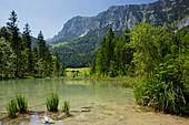 Lake Hintersee, Berchtesgadener Land, Bavaria, Germany