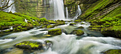 Cascade de Flumen, Saint-Claude, Jura, France