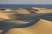 Dunes near Maspalomas, Gran Canaria, Canary Islands, Spain