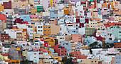 Colourful houses, Stadtteil San Juan, Las Palmas de Gran Canaria, Gran Canaria, Canary Islands, Spain