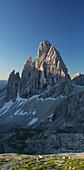 Zwoelferkofel, North face, South Tyrol, Dolomites, Italy