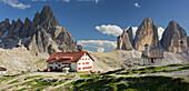 Chapel at Tre Cime Di Lavaredo, South Tyrol, Dolomites, Italy