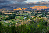 Feehly Hill Scenic Reserve, Arrowtown, Otago, South Island, New Zealand