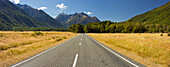 Highway, Nummer 94, from Te Anau to Milford, Fiordland, Southland, South Island, New Zealand