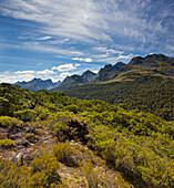 Key Summit, Fiordland National Park, Southland, South Island, New Zealand