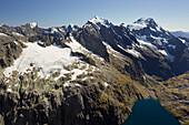 Mount Madeline, Lake Turner, Fiordland National park, Southland, South Island, New Zealand