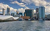 Skyline Auckland, Quay Street, North Island, New Zealand