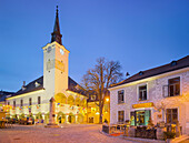 Town hall in Gumpoldskirchen, Moedling, Lower Austria, Austria
