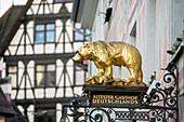 Zum Goldenen Bären, ältester Gasthof Deutschlands, Freiburg im Breisgau, Schwarzwald, Baden-Württemberg, Deutschland
