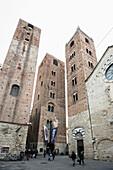 Cathedral of St. Michael the Archangel, Albenga, Province of Savona, Riviera di Ponente, Liguria, Italy