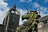 Crown Tower, King's College, Aberdeen, Aberdeenshire, Schottland, Großbritannien