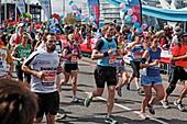 Virgin Money London Marathon, Tower Bridge, London, England, United Kingdom