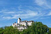 Hohenaschau castle, Aschau, Chiemgau, Upper Bavaria, Germany