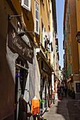 Vieux Nizza, Old City Center, Nizza, Provence-Alpes-Côte d'Azur, Alpes-Maritimes, Frankreich, Europa