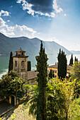 Villa Fogazzaro Roi, Valsolda, Lake Lugano, Province of Como, Lombardy, Italia