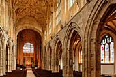 Sherborne Abbey, Dorset, England, Grossbritannien