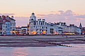 Buildings on Marine Parade, Eastbourne, East Sussex, England, Great Britain