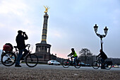 Victory Column at sunset, Berlin, Germany