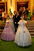 Europe, Principality of Monaco, gala in the Opera Garnier, property of SBM (Societe des Bains de Mer) for the company 150th anniversary.