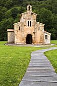 Pre-Romanesque church of San Salvador de Valdediós (aka El Conventín), Villaviciosa, Way of St James, Asturias, Spain