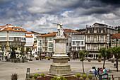 Cultural historical center, Betanzos, La Coruña province, Galicia, Spain