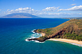 'Little Beach and Big Beach; Makena, Maui, Hawaii, United States of America'