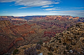 View Of The South Rim Of The Grand Canyon, Arizona.