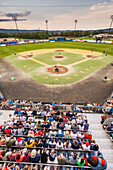 The *Fairbanks Goldpanners* 102Nd Annual Midnight Sun Baseball Game Played On Summer Solstice.