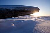 Rohn Buser Runs Past A Driftwood Log After Leaving Unalakleet Checkpoint, Iditarod 2012