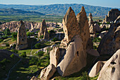 'Fairy Chimneys Houses In Uchisar; Turkey'