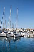'Yachts In The Marina; Puerto Morgan, Gran Canaria, Spain'