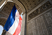 'Bastille Day, L' Arc De Triomphe; Paris, France'