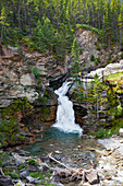 'Blakiston Falls In Waterton Lakes National Park; Alberta, Canada'