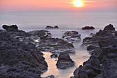 Seascape in ault, somme (80), picardie, france