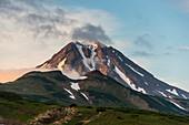 Vilyuchinsk volcano, Kamchatka, Russia, Eurasia