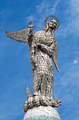 Virgin Mary de Quito Statue, El Panecillo hill, Quito, Pichincha Province, Ecuador, South America