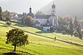 Kloster St. Trudpert Monastery, Munstertal, Munstertal Valley, Black Forest, Baden Wurttemberg, Germany, Europe