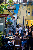 place Cortazar, the center of PALERMO SOHO, the new trendy area Buenos Aires - Argentina