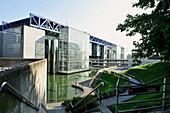 France, Paris, 19th district, Garden of La Villette, Museum of Science and Industry