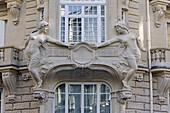 France, Paris, 10th district, Street of Abbeville