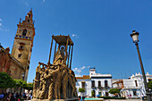 Spain, Andalucia Region, Huelva Province, Moguer City, Main Square