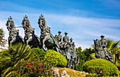 Spain, Andalucia Region, Cadiz Province, Jerez de la Frontera City, Caballo Monument (Horse Monument)
