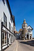 England, Dorset, Lyme Regis, Jurassic Coast, Street Scene